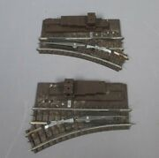Lionel 112 Vintage Left-hand And Right-hand Super O Remote Control Switches Pair