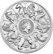 2021 Queen's Beasts 'completer' 1 Kilo Silver Bullion - New In Stock