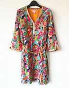 Nwt Lilly Pulitzer 348 Shannen Dress Bright Navy Bling My Chimes Size 6 Sale