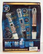Dr Who Personalise Your Sonic Screwdriver Set New In Box / Open Box