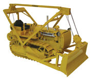 Spec Cast Cust-1432 116 Caterpillar D4 2t Crawler With Blade And Hyster D4 Winch