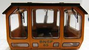 Lionel 28469-2x Bnsf Trackmobile Cab Assembly - Missing Window