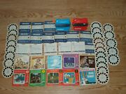 Lot Of 89 Sawyers Viewmaster Reels And 2 Viewers Thriller Cartoons Disney Lassie