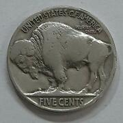 1936 Liberty Buffalo Nickel Five Cents Usa Coin Collection Genuine Uncirculated
