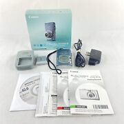 Canon Powershot Sd1200 Is Digital Elph 10mp Compact Camera 3x Zoom Blue Tested