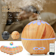 Ultrasonic Air Humidifier Aroma Essential Oil Diffuser 7 Color Changing Light