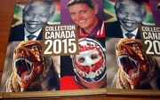 Canada 2015 Year Book Fine And Complete Mnh With Slip Case