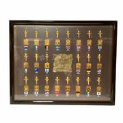 Rare Collection Of Commemorative Key Rings For The 1988 Seoul Olympics