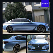 Super Glossy Car Wrap Vinyl Blue Car Vehicle Motorcycle Body Wrapping Sheet Film