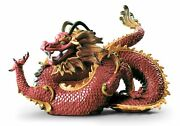 Lladro Majestic Dragon 01009235 Made In Spain