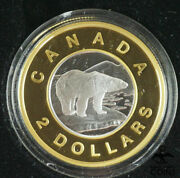2006 Canada 2 Gold 10th Anniversary Two-dollar Coin