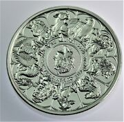 2021 Queenand039s Beast Completer Collection Coin 2 Oz .999 Silver In Capsule