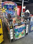Hollywood Reels Ticket Redemption Arcade Game By Jennison Works Great Rare