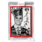Topps Project 70 Card 390 - 1954 Roger Maris By Toy Tokyo -presale-