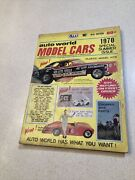 Auto World 1970 Special Summer Issue 19th Edition Slot Car Parts Magazine Nice