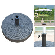20 Parasol Umbrella Base Stand Fillable Outdoor Yard Accessory Holder