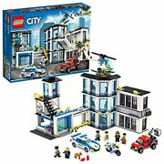 Lego City Lego City Police Station 60141 Free Ship W/tracking New From Japan