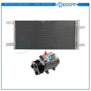 Ac Condenser And Ac Compressor Cooling Kit For 11-2013 2016 Ford F-250 Super Duty