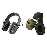 Electronic Earmuffs Anti-noise Ears Protective Headset Hearing Protection