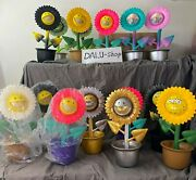 Ron English X Made By Monsters Shocking Sunflower Smiley Growing Grin 20 Off