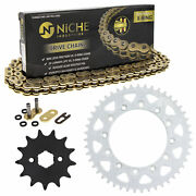 Sprocket Chain Set For Honda Xr200r 13/47 Tooth 520 X-ring Front Rear Kit Combo