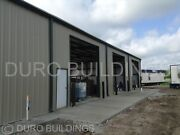 Durobeam Steel 72and039x120and039x18 Metal Clear Span Building Prefab Made To Order Direct