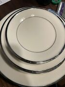Beautiful Lenox Solitaire Dishes. No Cosmetic Defects. 16 Pieces. One Owner.