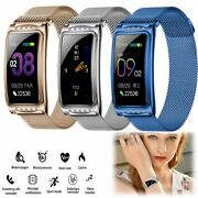 Ladies Smart Watch Heart Rate Sleep Monitor For Lg Samsung A02s A12 A42 A72 5g