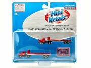 Classic Metal Works N Scale P.i.e Ihr-190 Tractor/32' Flatbed Trailer Set 51123