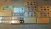15 90 Silver Proof Sets 1955--1964 Plastic And Original Mint Packaging 800