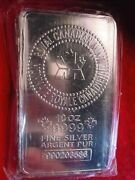 10 Troy Ounce Pure Silver Bar The Bar In The Photo Is The Bar In The Ad 139