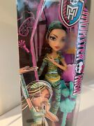 2015 Monster High Dead Tired Cleo De Nile Doll Articulated Excellent Packaging