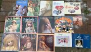 Antique Doll Clothes Calendar And Collection Books 1980s Doll Collector Lot 15