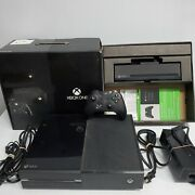 Microsoft Xbox One Day One Edition 500gb Black Console In Box. Clean. Tested