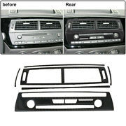 6pcs With Navigation Radio Panel Central Air Outlet Stickers For 03-08 Bmw Z4