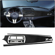 Car Center Console Radio Panel With Navigation Set Stickers For Bmw Z4 10pcs Set
