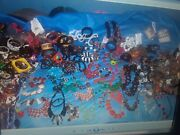 300 Lbs Vintage To Now Costume Jewelry Wearable, Unwearable, Junk