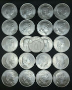 Donald J. Trump 45th President 1 Troy Ounce Pure .999 Silver Lot Of 21 Coins