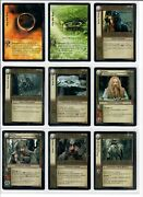 Lotr Tcg Complete Return Of The King Block - Rotk Sog Md - 609 Cards All Mint