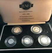 Bermuda 1995 Sterling Silver 5 Coin Proof Set