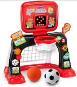 Vtech Smart Shots Sports Center Exclusive Frustration Free Packaging Red New