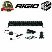 Rigid Industries 20 Led Light And Stealth Mount Bracket Kit And Gps Module Adapt