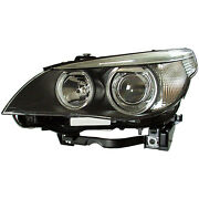 New Driver Side Left Xenon Type Head Lamp Lens And Housing Incl Auto Adjust