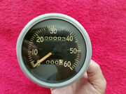 1943 -194 Moto Meter Gpw Mb Willys Jeep Speedometer With Odometer 60 Mph - Nice