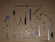 Huge Lot Vintage Medical Forceps And Tools - Usa And Germany Made Boker Dascher