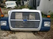 Ford Ln 9000 Hood Complete Very Nice Condition