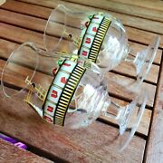 Two Duvel Collectible Beer Glasses The Gilded Age Of Beer By Jono, Limited Ed.