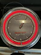 Snap-on Tools Neon Collectible Vintage Wall Clock 16 Used Please Read