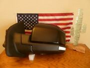 Glass Removed New Factory Ford F-150 2015-20 Driver Side Mirror Power Folding