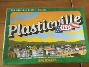 Bachmann Plasticville- 45614 Town Hall O Scale Train Buildings Nib Unopened